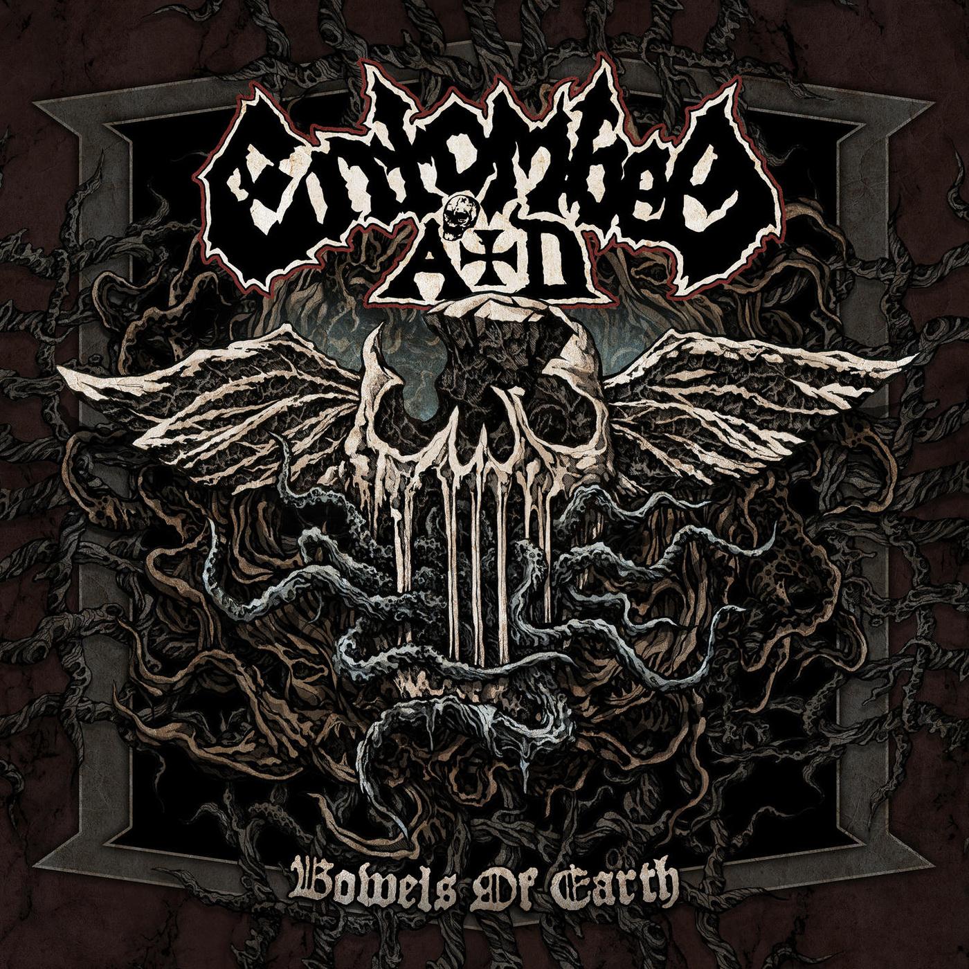 Pochette de l'abum Bowels Of Earth du groupe Entombed A.D.