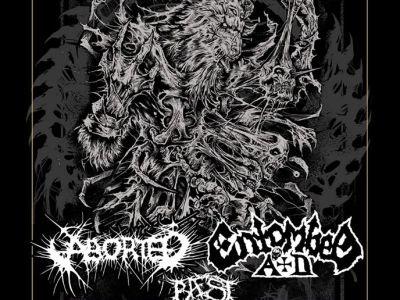 Concert d'Entombed A.D., Aborted, Baest à L'Empreinte à Savigny-le-Temple