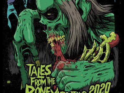 Affiche du concert de Dance with the Dead à Lyon en 2020
