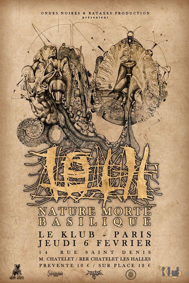Concert de Loth, Nature Morte, Basilique au klub à Paris