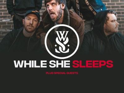 While She Sleeps à Lyon