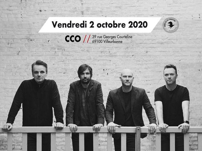 Affiche concert de the pineapple thief au CCO à Lyon