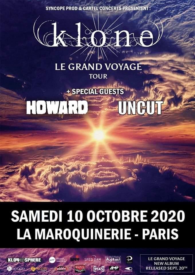 Klone - concert paris 2020
