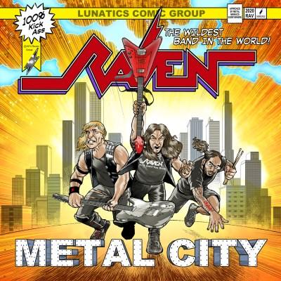 Pochette de Raven - Metal City