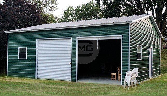 12 Gauge Metal Garages Customizable Garage Buildings