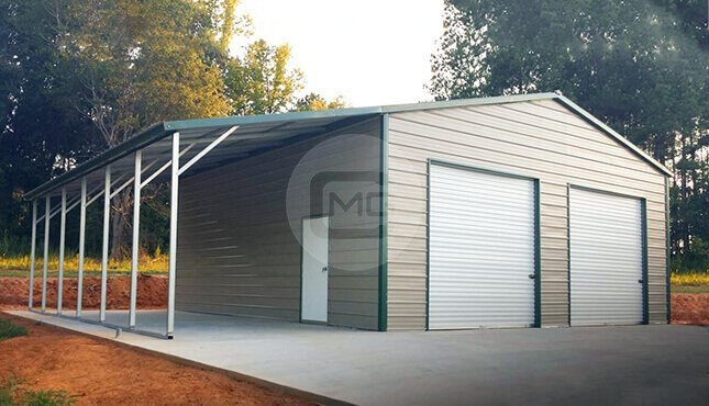 Metal Garages Prefab Metal Buildings Steel Garage