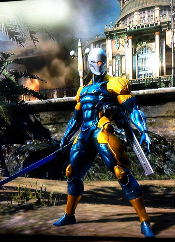 Pictures Of The Gray Fox Skin In Metal Gear Rising Metal