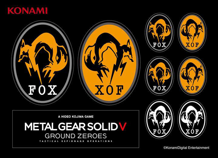 Logo Ground Zeroes Solid Metal Gear 5