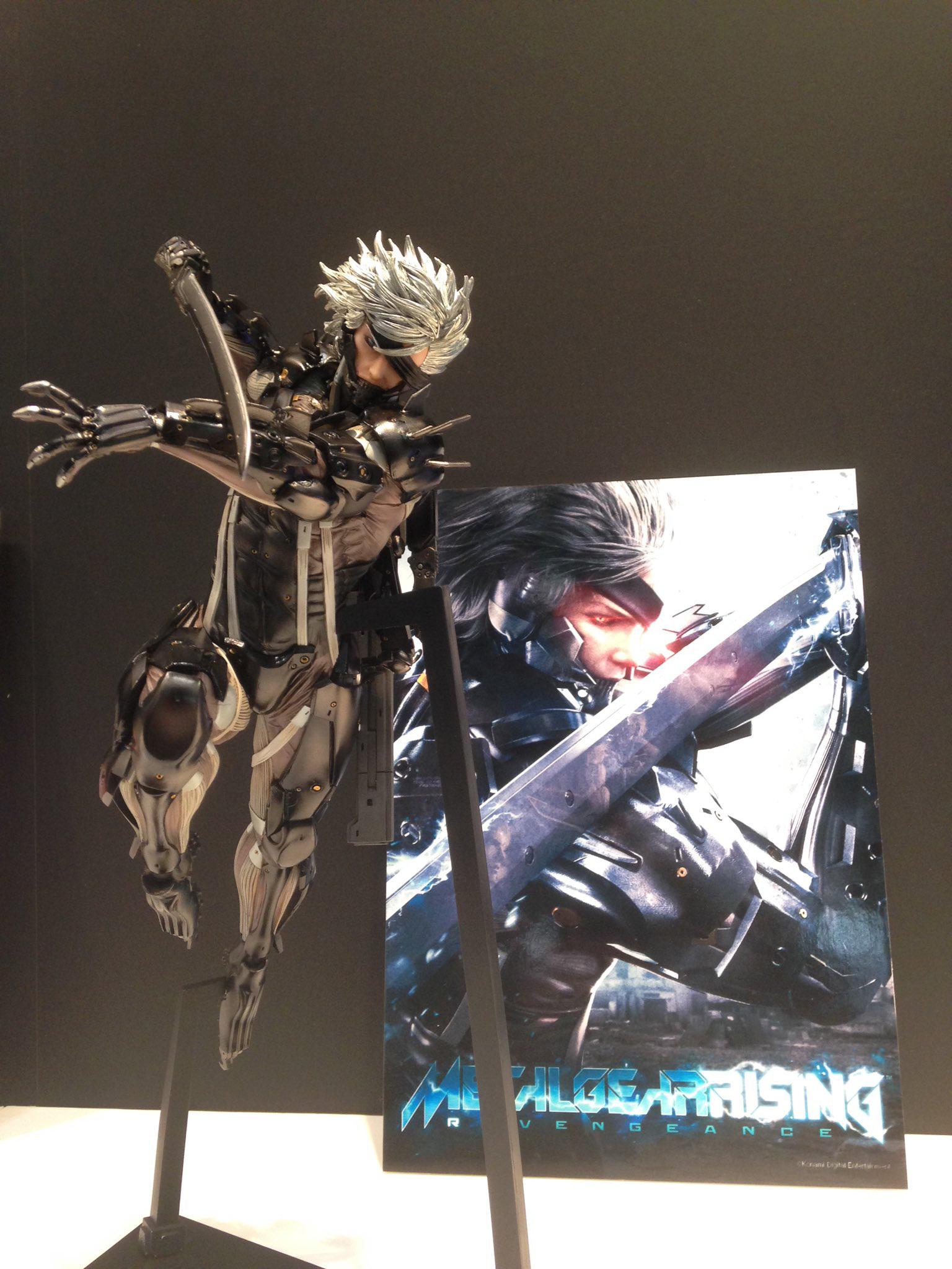 Union Creative Raiden Shows His Colors Metal Gear Informer