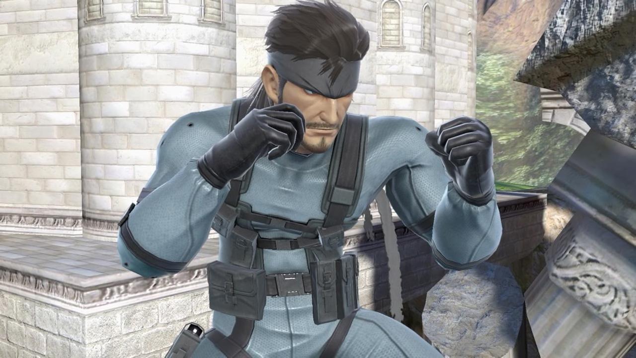 Snake Returns To Super Smash Bros Ultimate On Nintendo Switch Metal Gear Informer