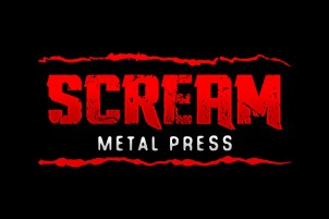 Logo Scream Metal Press efeitos - menor