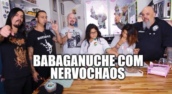 [VIDEO] NERVOCHAOS participa do programa Panelaço do João Gordo
