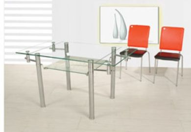 Glass Dining Room Table Rectangle