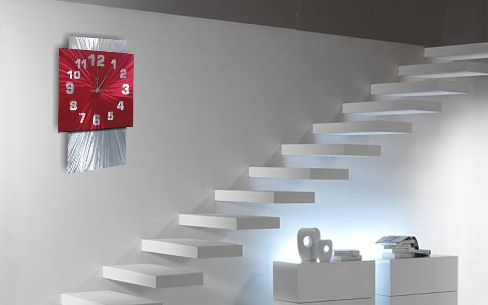 Coloured Wall Clocks