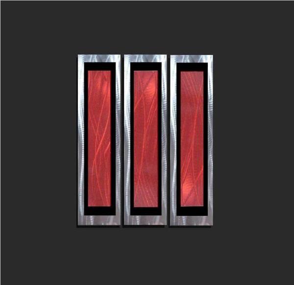 Red Metal Art