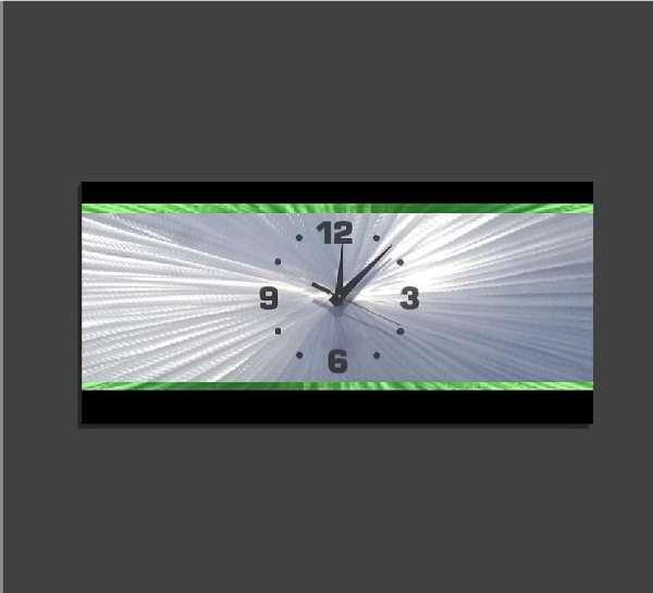 Retro Green Clock