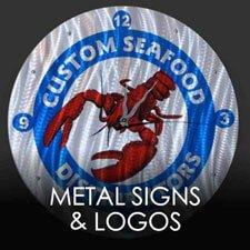 Metal Signs and Logos