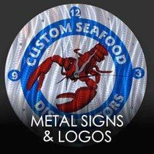 Metal Signs and Logos