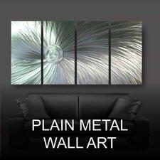 Plain Metal Wall Art