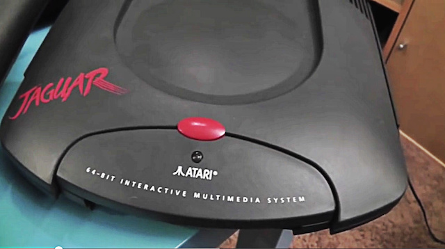 Atari Jaguar Console Review & Games