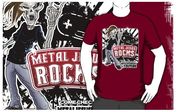 Metal Jesus t-shirt