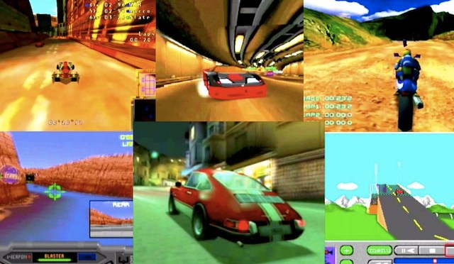 Forgotten Racing Games
