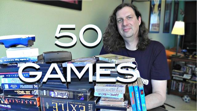 Recent Game Pickups – 50 GAMES!