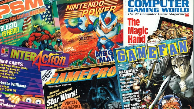 Retro Game Magazines – Retro Gaming Magazines Revisited