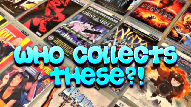 PSP UMD Movies – Who Collects These?!
