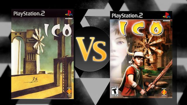 Japan vs USA PS2 Game Box Art