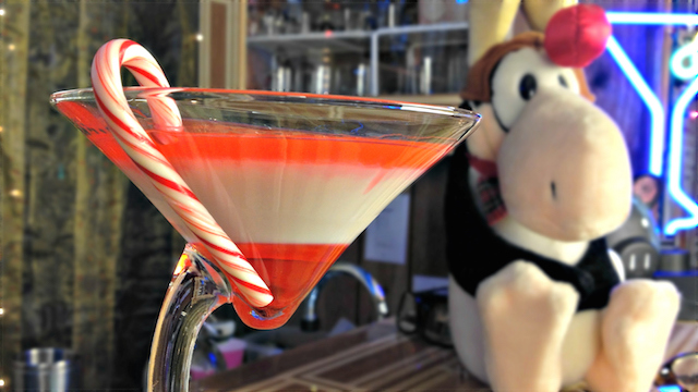 Candy Cane Martini Recipe (Drunken Master Paul)