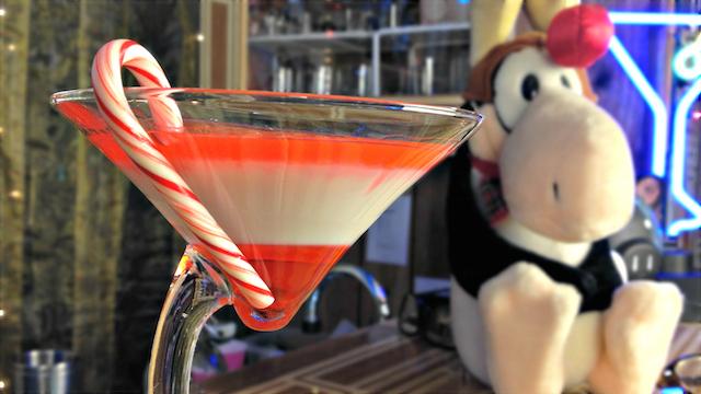 Candy Cane Martini Recipe (Drunken Master Paul)