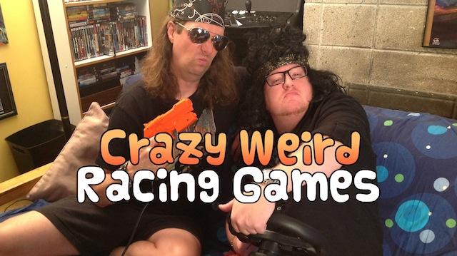 Crazy Weird Racing Games