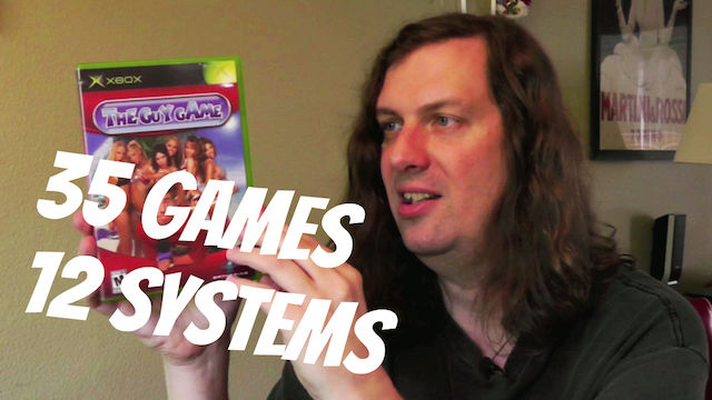Recent Game Pickups – 35 Games & Guy Game!