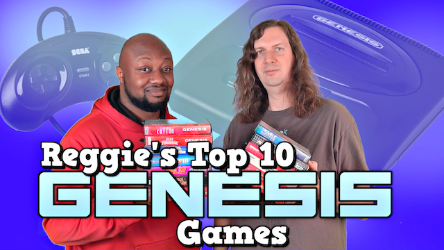 Top 10 Genesis Games – Reggie's Favorite