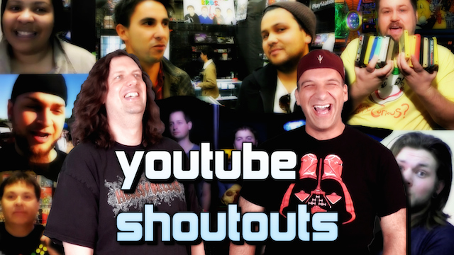 YouTube SHOUTOUTS – Watch These Shows!