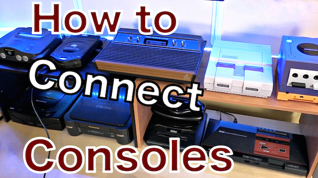 Connect your Retro Game CONSOLES to HDTVs