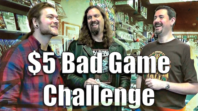 The $5 BAD GAME CHALLENGE – Game Questing