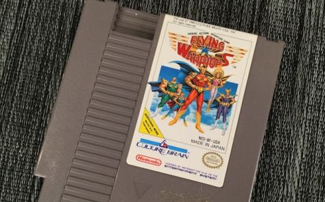 Flying Warriors NES