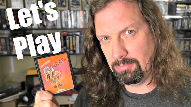Let's Play H.E.R.O. (Atari 2600)