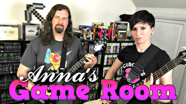 Anna's GAME ROOM TOUR (Lady Loft) for 2016