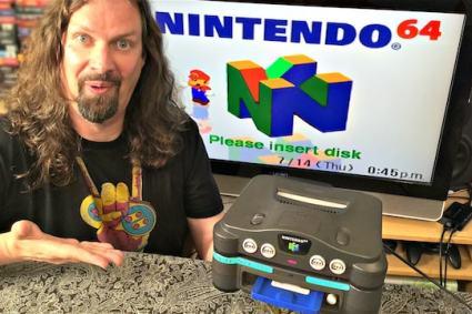 Ultra-Rare Nintendo Prototype N64 Add-On (US Version of 64DD)