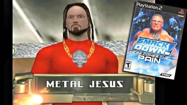 Metal Jesus Wrestler
