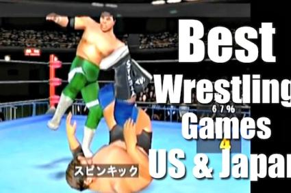 Best WRESTLING Games: US & JAPAN - Are you rrrready?!