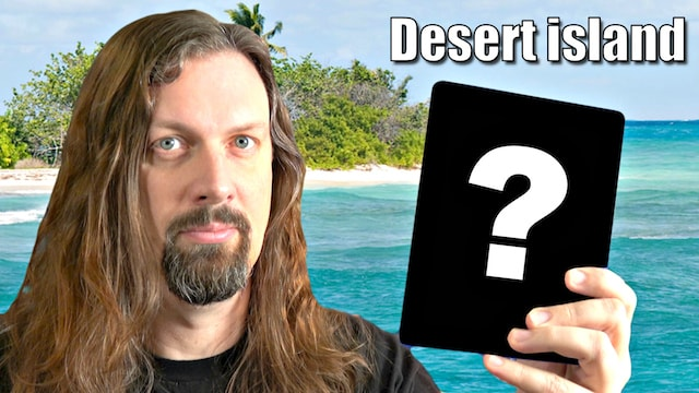 Stuck on a desert island: What are your TOP 3 GAMES to take with you?