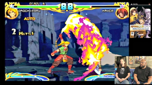 Let's Play Spectral vs Generations (PSP Fighting Game) w/ Reggie!