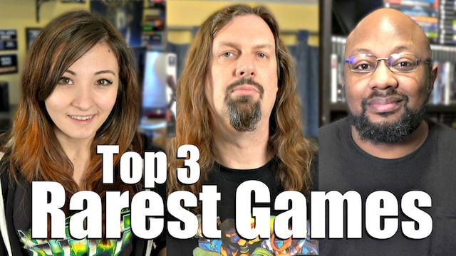 Top 3 Rare Games – ANSWERS from Metal Jesus Guests!