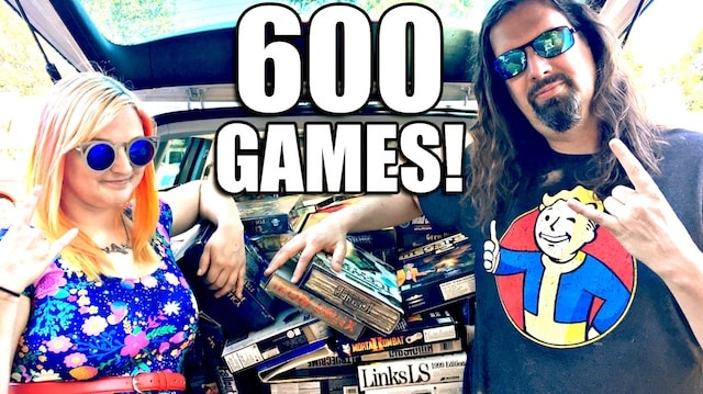 INSANE FIND: 600 Big Box PC Games for $75!! Games from 80s, 90s & 2000s