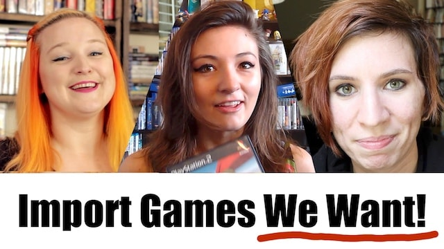 IMPORT GAMES We Want?! – Metal Jesus Crew Answers!