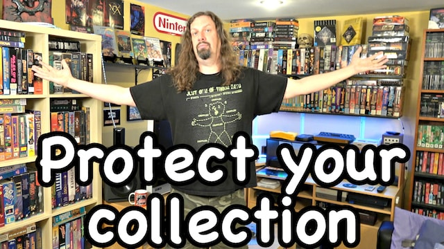 How I PROTECT & INSURE my Game Collection – Metal Jesus